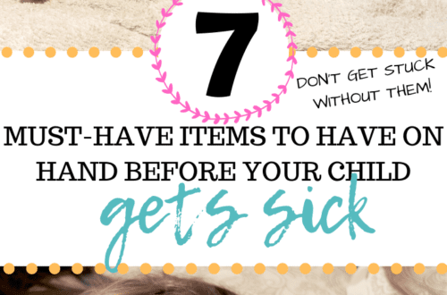 Don't be running to the store when your toddler or baby is sick - this post outlines everything you need! These sick day remedies will have your child feeling better in no time. Take this parenting advice from a mama of two and make sick days a breeze with these tips!