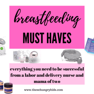 Breastfeeding is an amazing thing! Feeding your baby with breastmilk is so healthy for you and your newborn. But breastfeeding is HARD! These products are ones that I learned about once I started breastfeeding, and they were lifesavers for me! Repin and click the link to see the best breastfeeding products #breastfeeding #newborn #firsttimemom #motherhood