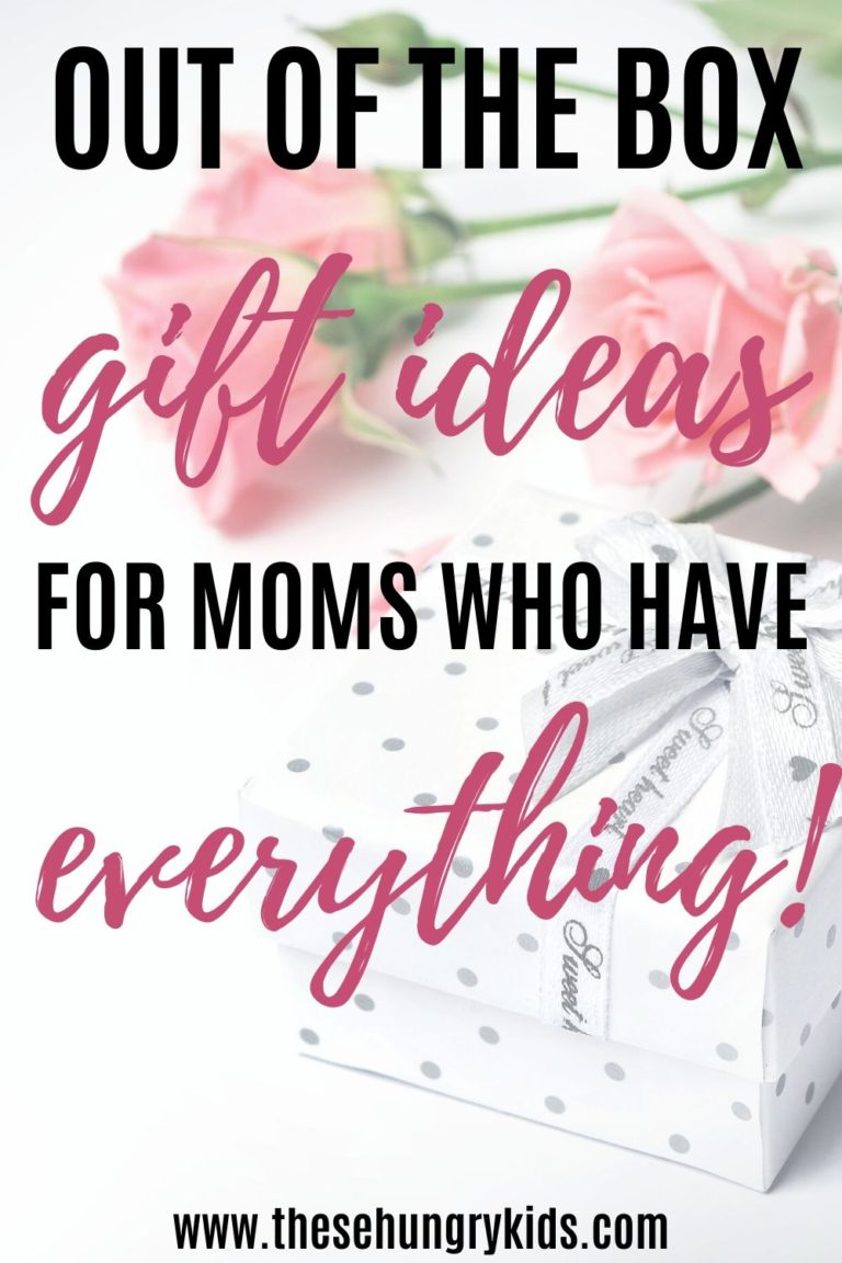 Unique gift ideas for moms who have it all. Gift ideas for birthdays, Valentine's Day, Christmas, Mother's Day and anniversaries.